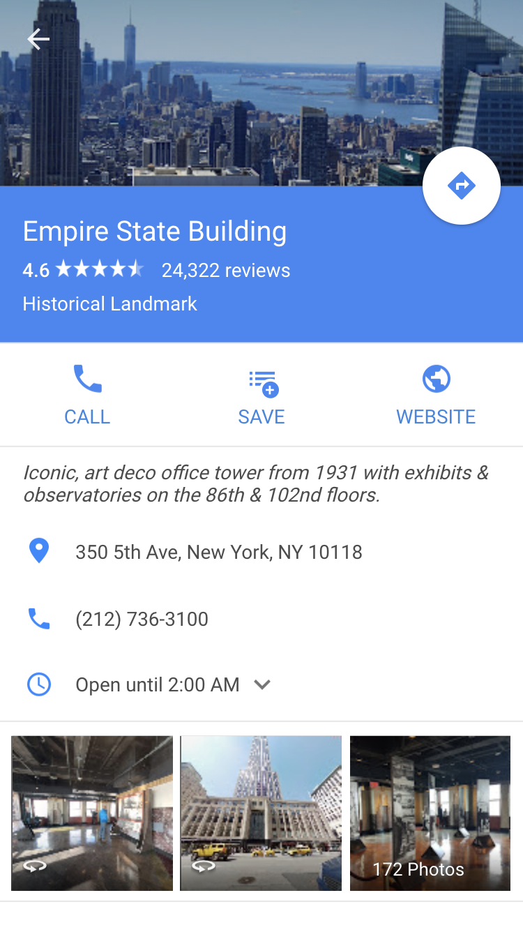 Ny State Map Google.Google Maps Pwa Progressive Web Apps On Appscope