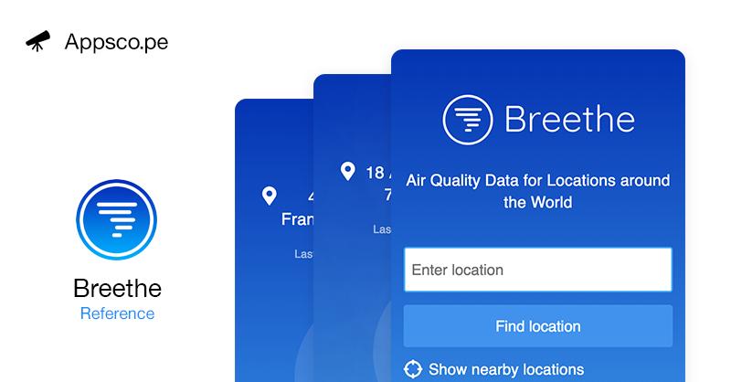 Breethe PWA - Progressive Web Apps on Appscope