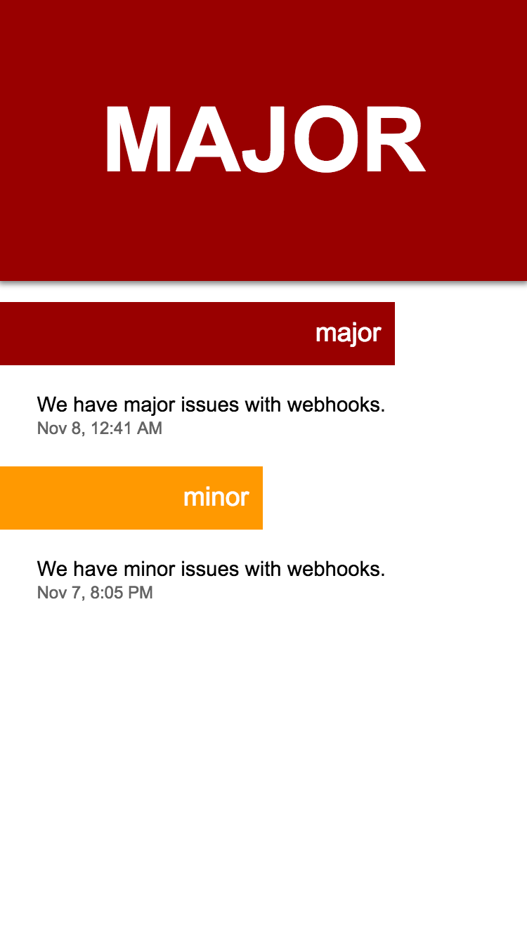 GitHub Status PWA - Progressive Web Apps on Appscope
